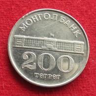Mongolia 200 Tugrik 1994 KM# 125 Mongolie - Mongolia