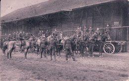 Armée Suisse, Cavalerie Et Train, Attelages,Cachet Linéaire FRAUENFELD (16.8.1909) - Casernes