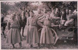 Armée Suisse En Campagne, Cavalerie, Train Et Attelages (1927) - Manoeuvres