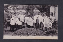 Fontenoy Le Chateau (88) Groupe De Brodeuses ( Brodeuse Serie Massoy Photo Email) - Other Municipalities