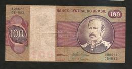 BRASIL - BANCO CENTRAL Do BRASIL - 100 CRUZEIROS / F. PEIXOTO - Brasile