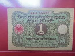 Darlehnskassenschein :1 MARK 1920 - 1 Mark