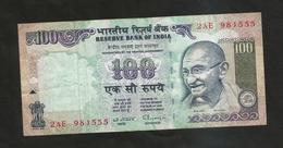 INDIA - RESERVE BANK Of INDIA - 100 RUPEES / GANDHI - India