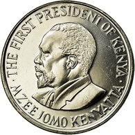 Monnaie, Kenya, Shilling, 2005, British Royal Mint, SUP, Nickel Plated Steel - Kenya