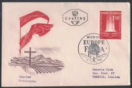 YN6   FDC First Day Cover - AUSTRIA 1961 - EUROPA F5AEEI - ANNULLO SPECIALE - FDC