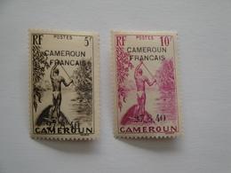 1940 Cameroun Yv 301 308 **  MNH Bateaux Ships Cote 85.00 €   LScott 277 - 278A SG 179 - 181  Indigène - Cameroun (1915-1959)