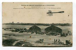 CPA 94 : VINCENNES   Aviation Arrivée De Vidart   VOIR  DESCRIPTIF  §§§ - Vincennes