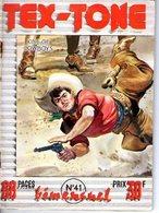 TEX TONE - N° 41 - JANVIER 1959 - EDITEUR IMPERIA - SUPERBE ETAT - WESTERN COW BOY INDIENS - - Petit Format