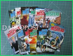 Lotto 1/12 Martin Mystere BD Comic Strip Fumetti Bonelli Carte Postale Set Serie Completa 12 Cartoline - Fumetti
