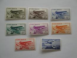 1941 Cameroun Yv PA 4/11 *  MH Bateaux Ships Cote 10.80 € Avions Airplanes  Michel 164/71Scott C 18/25 SG 190f/m - Poste Aérienne
