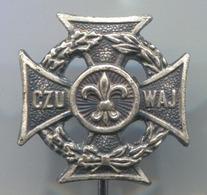 SCOUTING, SCOUTISME, BOY SCOUT - CZU WAY, Poland, Vintage Pin, Badge, Abzeichen - Scoutisme