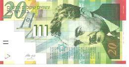 Israel  New  20 New Sheqelim  2014  UNC - Israel