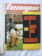 1979 TEMPO YUGOSLAVIA SERBIA SPORT FOOTBALL MAGAZINE NEWSPAPERS Vladimir Yashchenko SAPER PARTIZAN BOX MUHHAMAD ALI - Deportes