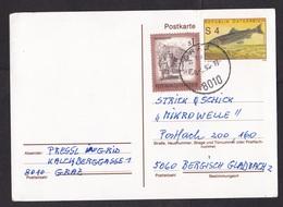 Austria: Stationery Postcard, 1993, Extra Stamp, Fish (minor Damage) - 1945-.... 2de Republiek