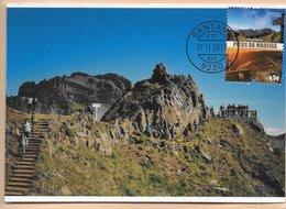 TARJETA MAXIMA - CARTE MAXIMUM - MAXIMUM KARTE - MAXICARD -  MAXIMUM CARD - PORTUGAL (MADEIRA) - PICO RUIVO - SANTANA - Vacaciones & Turismo