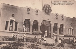 85 St GILLES Sur ViE    PLAGE     Casino-Patisserie-Restaurant-Dancing-Aperitif-Concert   RARE TB PLAN - Saint Gilles Croix De Vie