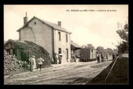 58 - BRINON-SUR-BEUVRON - INTERIEUR DE LA GARE DE CHEMIN DE FER - Brinon Sur Beuvron