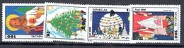 1992 Senegal Good Set Mnh ** Christmas Noel 9euros - Senegal (1960-...)