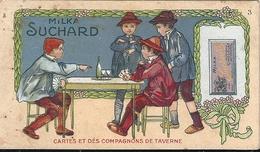Chromos Chocolat Milka Suchard Série 214 N°3 Cartes Et Dés Compagnons De Taverne - Suchard