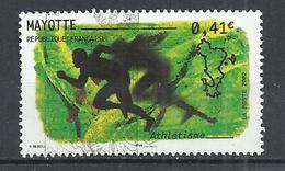 MAYOTTE 2002 - ATHLETICS - USED OBLITERE GESTEMPELT USADO - Mayotte (1892-2011)