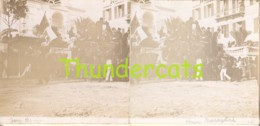 PHOTO STEREOSCOPIQUE STEREO FOTO SAN REMO CHAR BERSAGLIERE BERSAGLIRI BERSAGLIRE - Photos Stéréoscopiques
