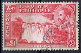 PIA - ETHIOPIE - 1947: Hailé Sélassié E Veduta Della Ascta Dell' Omo- (Yv  266) - Ethiopie
