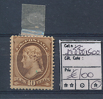 USA 10 CENTS JEFFERSON LH NICE STAMP - Unused Stamps