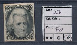 USA YVERT 27 MINT NO GUM - Unused Stamps