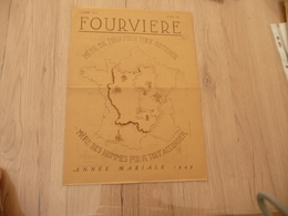 Journal Fourviere 26/03/1949 5ème Année N°4 - Journaux - Quotidiens