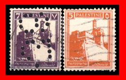 PALESTINA (ASIA )  SELLOS USADOS AÑO 1922 - Palestina