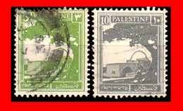 PALESTINA (ASIA )  SELLOS USADOS AÑO 1922 - Palestine