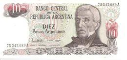 Argentina P-313 10 Pesos 1983-84 UNC - Argentine