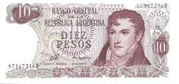 Argentina P-295 10 Pesos 1973-76 UNC - Argentine