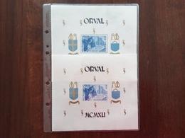 BELGIO - Abbazia Di Orval - 2 BF Nuovi ** + Spese Postali - Feuillets