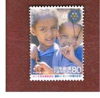 GIAPPONE (JAPAN) - SG 3316 -    2005 ROTARY: CHILDREN     - USED° - 1989-... Imperatore Akihito (Periodo Heisei)
