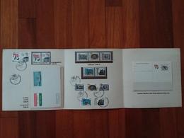 REPUBBLICA - Expo Italia '76 - Cartoncino Ufficiale Delle Poste - Nuovi E Timbrati + Spese Postali - Folder