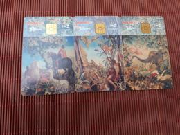 3 Phonecards Malta Used - Malte