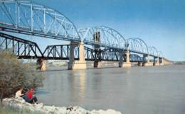 NASHVILLE  Hickman Lockhart Mémorial Bridge  1 (scan Recto Verso)ME2676TER - Nashville