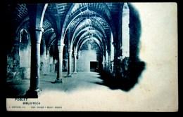 CPA-KP-PC- ESPAGNE Poblet BIBLIOTECA Monasterio De Santa Maria De Poblet - Tarragona
