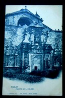 CPA-KP-PC- ESPAGNE Poblet PUERTA DELA IGLESIA   Monasterio De Santa Maria De Poblet - Tarragona