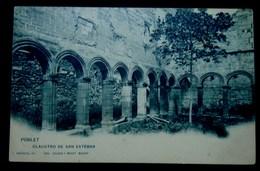 CPA-KP-PC- ESPAGNE Poblet CLAUSTRO DE SANT ESTEBAN  Monasterio De Santa Maria De Poblet - Tarragona