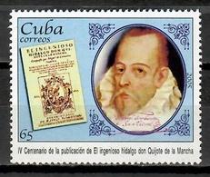Cuba 2005 / Miguel De Cervantes Don Quixote MNH Don Quijote / Cu11730  C2 - Schriftsteller