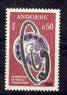 Andorra -Franc 1967 Red Telefonica Y=182 E=202 (**) - Nuevos