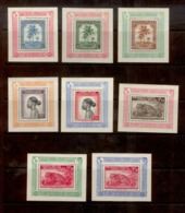 Belgian Congo - BL3A/10A - 8 S/S - Full Set - Sheets UPU - MH - Blocks & Sheetlets