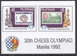 Chess Filipinas 1992 - 30 Olimpiada - Manila - Ajedrez