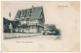 """CPA - 77 - BOIS LE ROI - Villa """"La Jeannette"""" , Au Dos Historique De La Maison - Précurseur - Bois Le Roi"""