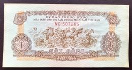 VIETNAM SOUTH PR4 1 DONG 1963 AUNC - Vietnam