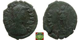 Roman Empire - AE4 Of Arcadius (383 - 408 AD), VICTORIA AVGGG - 8. La Fin De L'Empire (363-476)