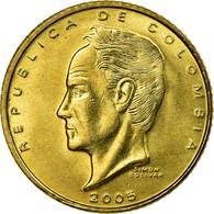 Monnaie, Colombie, 20 Pesos, 2005, SPL, Laiton, KM:294 - Colombie
