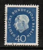 GERMANY---BERLIN  Scott # 9N 168  VF USED (Stamp Scan # 463) - Used Stamps